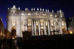 St Peter na noite foto de stock royalty free