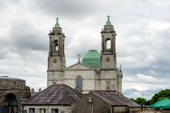 St Peter och Paul Cathedral Athlone, Irland royaltyfri foto