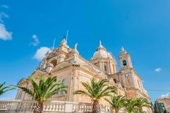 St Peter och Sant Paul i Nadur, Malta arkivfoton