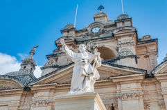 St Peter och Sant Paul i Nadur, Malta royaltyfria bilder