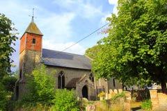 St Peter och St Paul kyrka Dymchurch Kent UK Arkivfoton