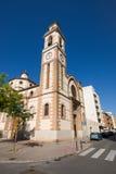 St Peter parafia w Grao Castellon miasto obraz stock