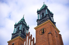 St. Peter and Paul basilica in Poznan, Poland Royalty Free Stock Photo