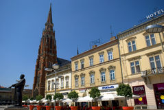 St. Peter and Paul Cathedral, Osijek, Croatia Stock Image