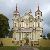 St.Peter and Paul cathedral in Vilnius 1 Stock Photos