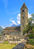 St Peter and Paul church in Biasca, Switzerland Royalty Free Stock Photos