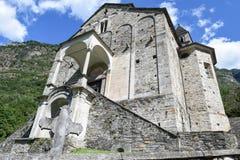 St Peter and Paul church in Biasca, Switzerland Stock Photo