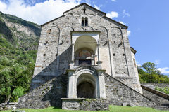 St Peter and Paul church in Biasca, Switzerland Royalty Free Stock Photo