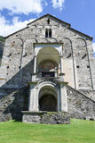 St Peter and Paul church in Biasca, Switzerland Stock Image