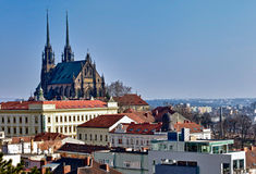 St. Peter and Paul Church In Brno Royalty Free Stock Photos