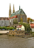 St. Peter and Paul church in Gorlitz. Germany.  Royalty Free Stock Photo