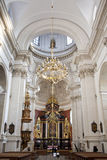 St Peter and Paul Church - Krakow - Poland. The high altar in the Church of St. Peter and St. Paul on Grodzka in the city of Krakow in Poland. The church dates Royalty Free Stock Photography