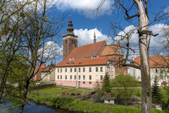St Peter and Paul church in Lidzbark Warminski Stock Photography