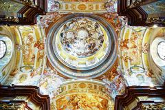 St. Peter and Paul Church in Melk Abbey Royalty Free Stock Photo
