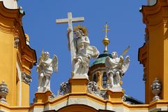 St. Peter and Paul Church in Melk Abbey Stock Photography