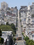 St Peter & Paul Church in San Francisco. Neighborhood In California Royalty Free Stock Photos