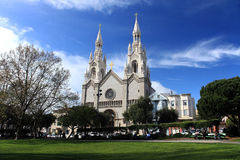 St. Peter and Paul Church,San Francisco Stock Photos