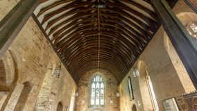 St Peter and St Paul`s Church - Chancel Ceiling Royalty Free Stock Photo