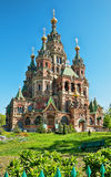 St. Peter and Paul's church in  Peterhof Stock Photo