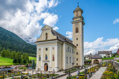 St.Peter and Paul(St.Vitus) church with cemetery in Sesto Stock Images