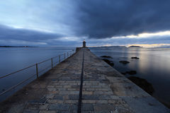 St Peter Port de Guernsey Foto de Stock Royalty Free