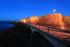 St Peter Port di Guernsey Fotografie Stock Libere da Diritti