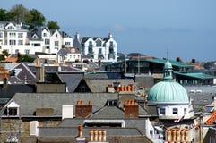 St Peter Port di Guernsey Immagine Stock Libera da Diritti