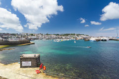 St Peter Port harbour, Guernsey Royalty Free Stock Photo