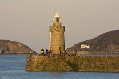 St Peter portu schronienie, Guernsey Zdjęcie Royalty Free