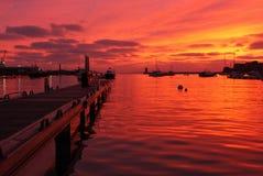St Peter portu schronienie, Guernsey Zdjęcia Stock