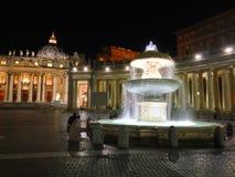 St Peter & x27; quadrado de s no Vaticano Fotografia de Stock Royalty Free