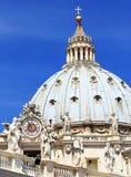 St Peter Quadrat in der Vatikanstadt Lizenzfreie Stockfotografie