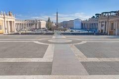 St.Peter Quadrat in Rom Stockfotos