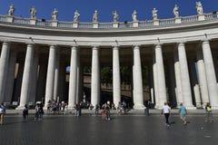 St Peter Quadrat, Vatikanstadt, Europa Stockfotos