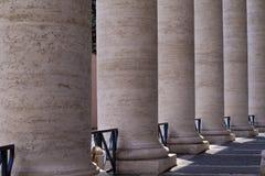 St Peter quadratische Spalten Lizenzfreie Stockfotografie