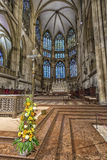 St Peter Regensburg Inside de cathédrale Images libres de droits