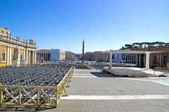 St. Peter (Rome Italy) Royalty Free Stock Photography