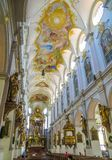 ST Peter ` s - μπαρόκ ανώτατος κύριος σηκός Στοκ εικόνα με δικαίωμα ελεύθερης χρήσης