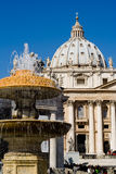 st peter s базилики Стоковое фото RF