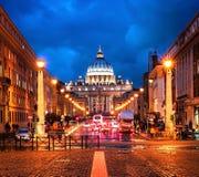 st peter s базилики Стоковая Фотография RF