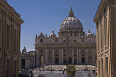 St Peter`s Basilica Royalty Free Stock Photo