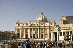 St Peter`s basilica Stock Photo