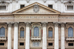 St Peter's Basilica Royalty Free Stock Photography