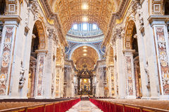 St Peter's Basilica royalty free stock photos