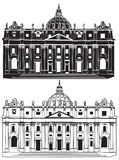 St. Peter's Basilica Royalty Free Stock Photos