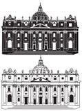 St. Peter's Basilica. Vatican City Royalty Free Stock Photos