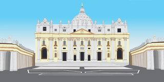 St. Peter's Basilica Stock Images