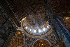 St Peter's Basilica Royalty Free Stock Photo