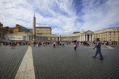 St Peter's Basilica Stock Image