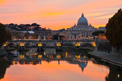St. Peter\'s Basilica, Rome Royalty Free Stock Photo